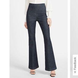 NWT Super High Waist Slim Flare Jeans